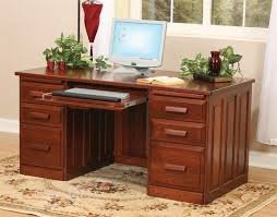 wood desks for home office. Amish Flat Top Home Office Desk Wood Desks For O