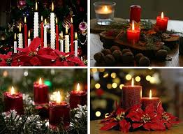 Small Picture Christmas Candles Decorating Ideas Decorating Christmas Ideas Tips