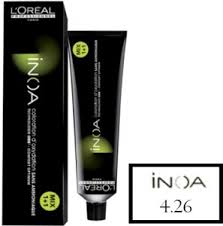Inoa Supreme Color Chart Loreal Paris Inoa Hair Color4 26 Iridescent Red Brown