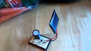 miniature solar panel