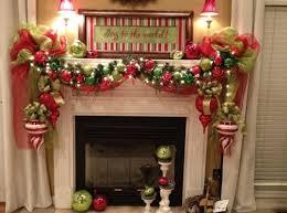 Fireplace Decorating Ideas For Christmas Home Interior Ekterior.