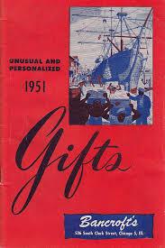 1951 bancroft s chicago il gift catalog unusual personalized home
