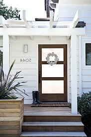farmhouse style front doorsfarmhouse front door entry beach style with striped rug nickel