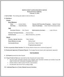 Minutes Sample Format Board Meeting Minutes Template Sample Format Jaxos Co