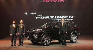 new car launches australiaToyota launches allnew Fortuner in Thailand and Australia