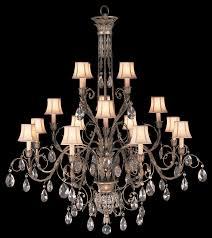 fine art lamps 136740 2 a midsummer night s dream extra large 16 light crystal