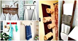 50 diy towel rack ideas to save money