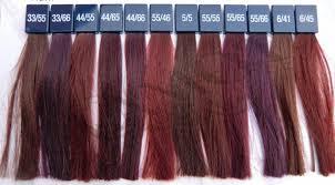 Wella Red Color Chart Wella Koleston Perfect Vibrant Reds Glamot Com In 2019