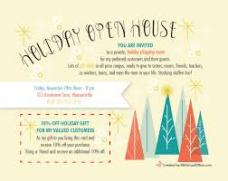 christmas open house flyer mary kay open house sets youre invited yellow background and