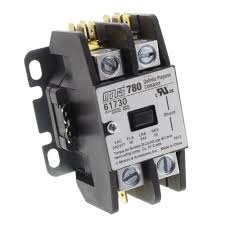 supplyhouse com Electrical Contactor Wiring Diagram single pole, 40 amp, 24v contactor product image