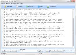Text Reader 2020 For Windows 10 8 And Windows 7 Free