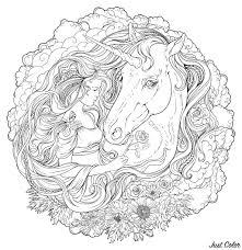 Pagine Da Colorare Di Unicorni Con Galria Disegni Di Unicorni Da
