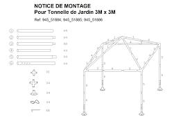 Astucieux Plan Montage Pergola Bois 2 Plan De Montage Tonnelle
