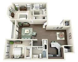 Contemporary 2 Bedroom Apartments Houston With In Tx