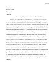 hist air power and modern warfare unc page course 12 pages history dialectic essay