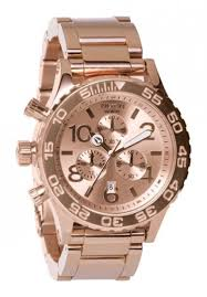 nixon the 42 20 chrono watch birthdays birthday gifts and men s nixon all rose gold mens watch