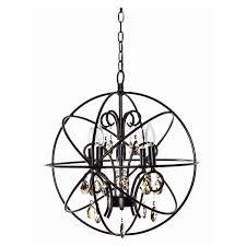 maxim lighting 25142 orbit 4 light chandelier home com