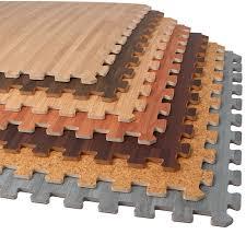 forest floor 3 8 thick printed wood grain interlocking foam floor mats