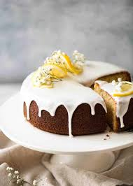 Lemon Cake With Lemon Glaze Recipetin Eats
