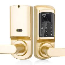 china waterproof and wifi electronic remote control key door lock for glass doors