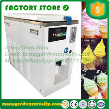 Soft Serve Vending Machine Adorable 48 Popular White Color 48L Capacity Automatic Soft Ice Cream