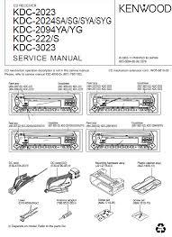 kenwood kdc 222 service manual pdf kenwood kdc 2023 2024sa 2094ya 222 3023 cd receiver service manual