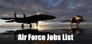 Air Force Jobs List A List Of All 135 Afscs In The Air