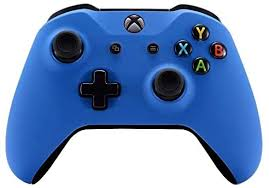 Discover the best xbox one controllers in best sellers. Amazon Com Soft Touch Blue Wireless Bluetooth Custom Controller For Xbox One Computers Accessories
