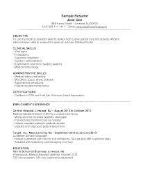 Sample Resume For Administrative Assistant Skills – Resume Tutorial