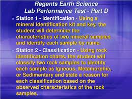 Ppt Regents Earth Science Lab Performance Test Part D