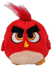 Angry Birds Movie Red Hatchling 4 Plush Commonwealth Toys - ToyWiz