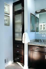 breathtaking bathroom tower cabinet ideas built in linen closet bath beautiful