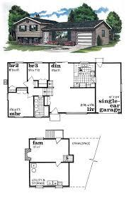 awesome 2 bedroom split level house plans new home design