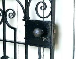full size of wrought iron garden gates for antique a metal side amusing gate locks