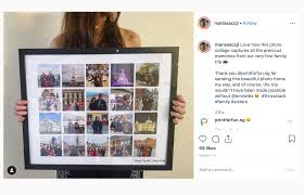 Download 116 instagram post frame free vectors. Insta Poster Collage Prints Make Your Own Collage Print Print For Fun