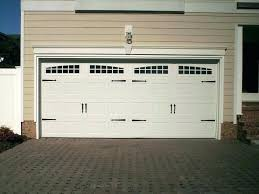 walk through garage door doors how much does a cost