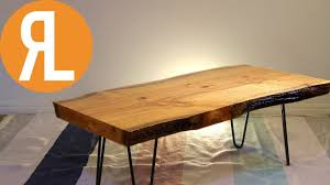 wood router edge. live edge table | how to flatten wood using a router e