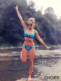 <b>AONIHUA</b> Halter Brazilian <b>Bikini</b> Set <b>Women</b> Cross Push up beach ...