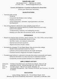 Assembler Job Description For Resume New Electronic Assembler Resume Simple Assembler Resume