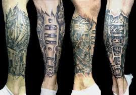 Biomechanika Bio Mechanical Tattoo Galerie Tetováníblogcz