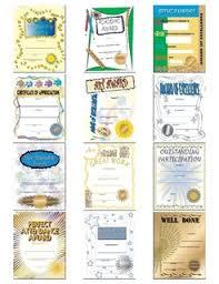 Kids Award Certificate Certificates Of Achievement Kids Certificates School