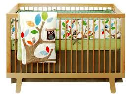 boy owl crib bedding nursery ideas