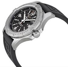 breitling mens colt watch black dial rubber strap no reserve breitling mens colt watch black dial rubber strap no reserve