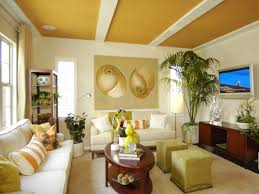 Texture Paint Design For Living Room Add Character To A Boring Ceiling Hgtv