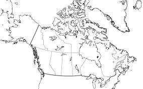 Map Of Canada Blank As Well Printable Blank Map Of With Lakes And