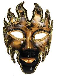 Decorative Face Masks Full Face Venetian Volto Masks Party Superstores 25