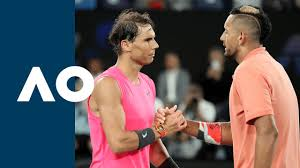 Nick kyrgios fights hard to beat alexander muller on his atp tour return tuesday at the murray river open. Rafael Nadal Vs Nick Kyrgios Extended Highlights R4 Australian Open 2020 Youtube