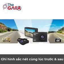 Camera Hành Trình VietMap C65 + Thẻ nhớ 32GB | Độ phân giải Ultra HD 4K |  Cảnh báo tốc độ