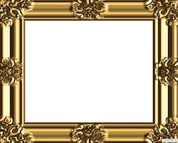 5 gold vintage frame vector images