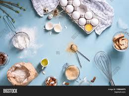 Bakery Ingredients Image Photo Free Trial Bigstock